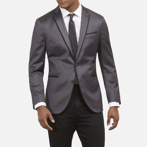 Kenneth Cole Other - Kenneth Cole Gray Evening Jacket 38S